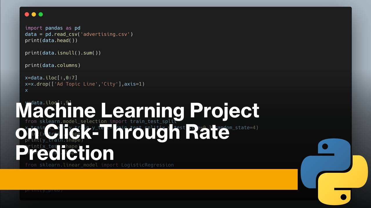 Click-Through Rate Prediction with Machine Learning