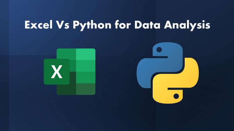 Python Vs Excel for Data Analysis