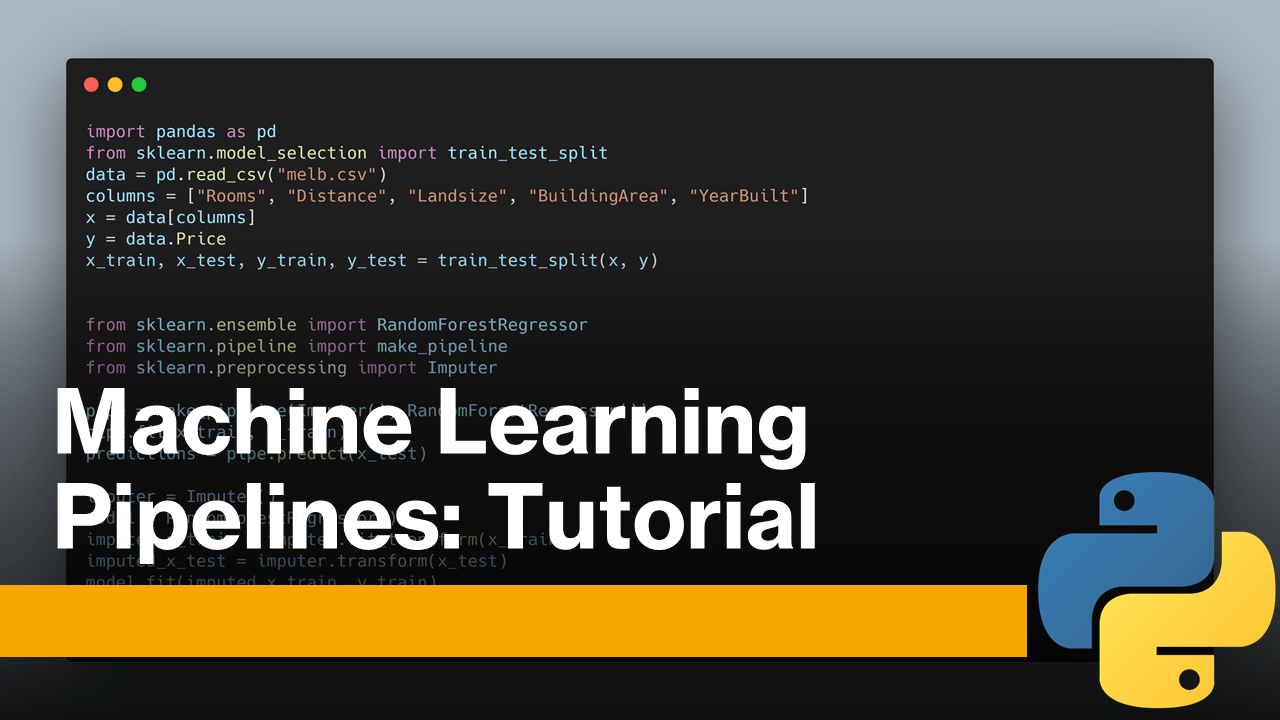 Machine Learning Pipelines