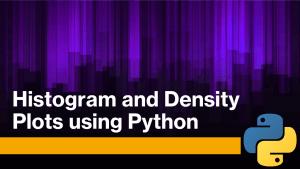 Histogram and Density Plots using Python