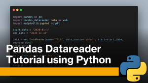Pandas Datareader using Python (Tutorial)