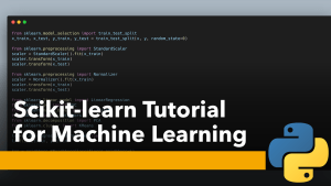 Scikit-learn Tutorial for Machine Learning