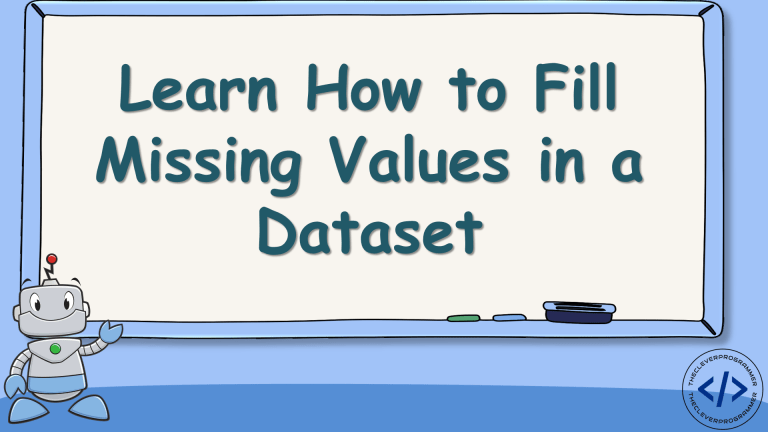 Fill Missing Values in a Dataset using Python
