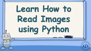 Read Images using Python