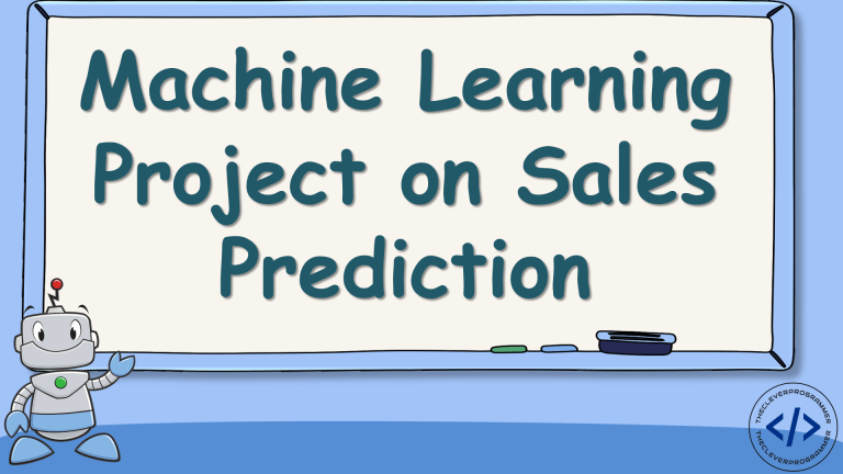 Sales Prediction with Machine Learning
