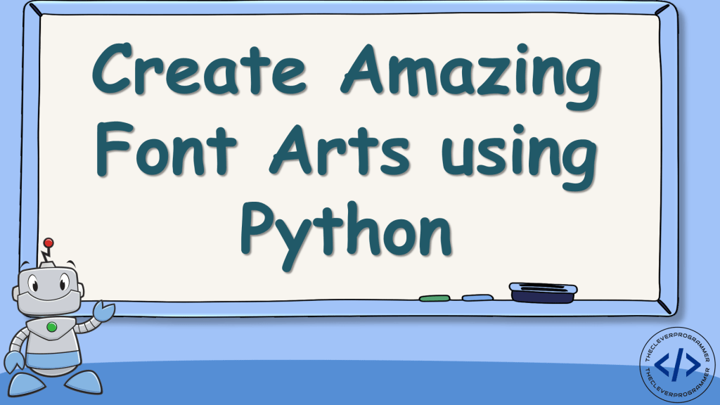 Create Font Art using Python
