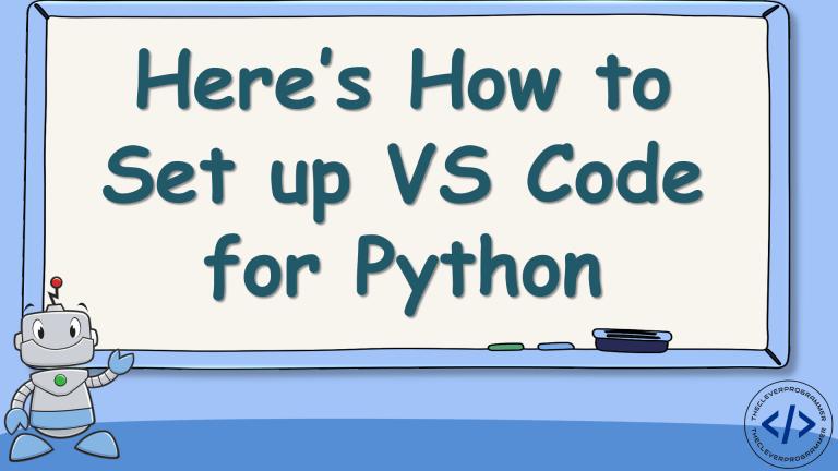 Set up VS Code for Python