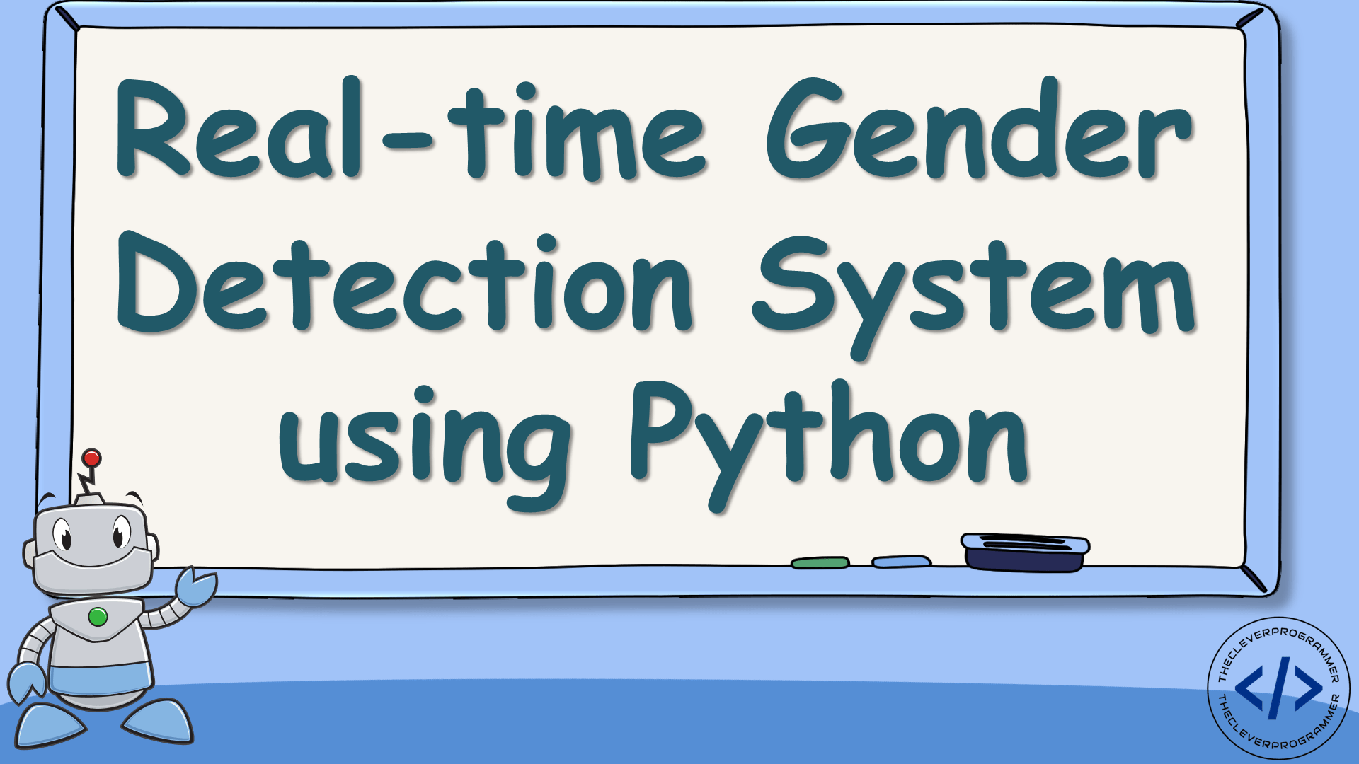 Real-time Gender Detection using Python