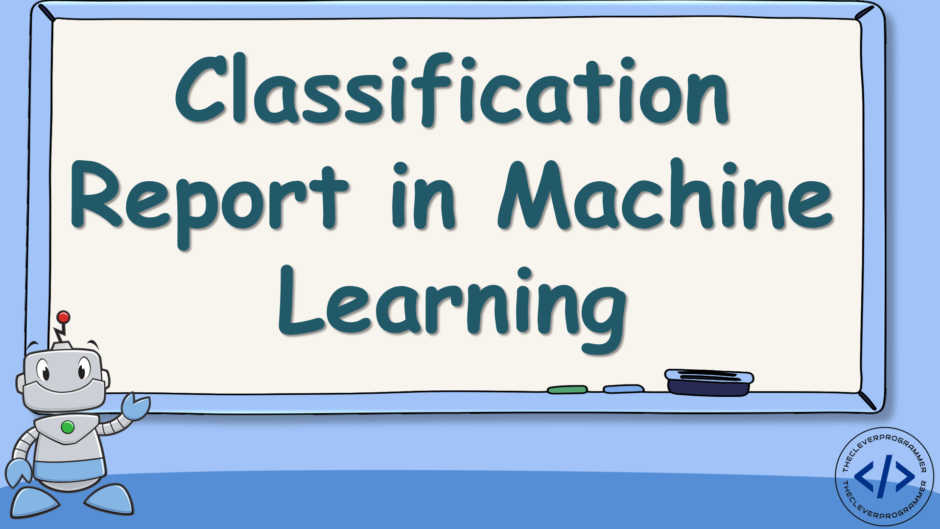 Classification Report in Machine Learning