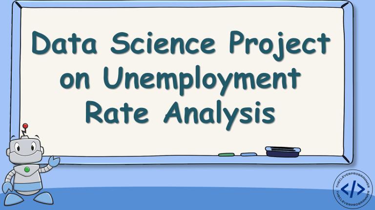 Unemployment Analysis with Python
