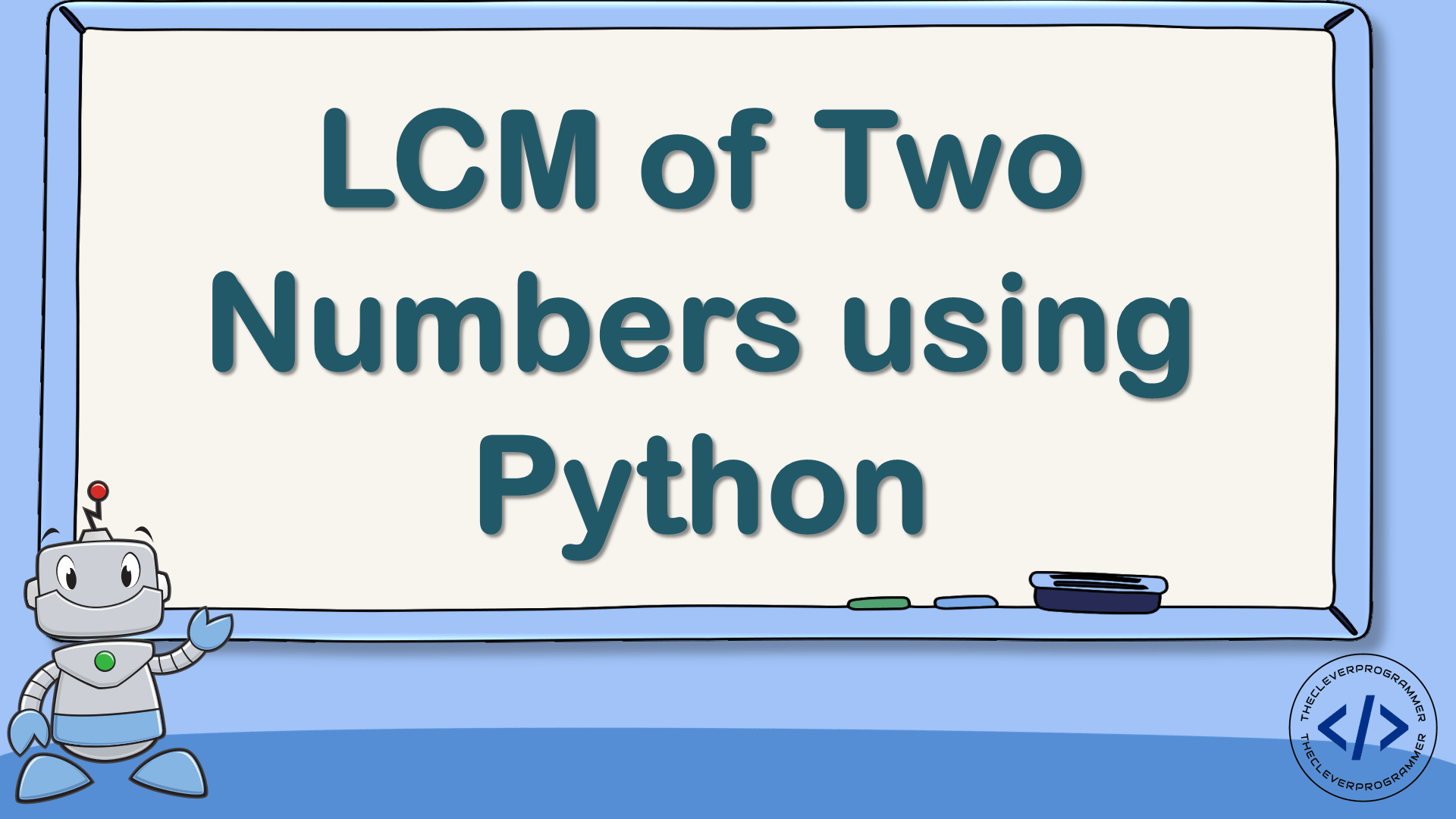 LCM using Python