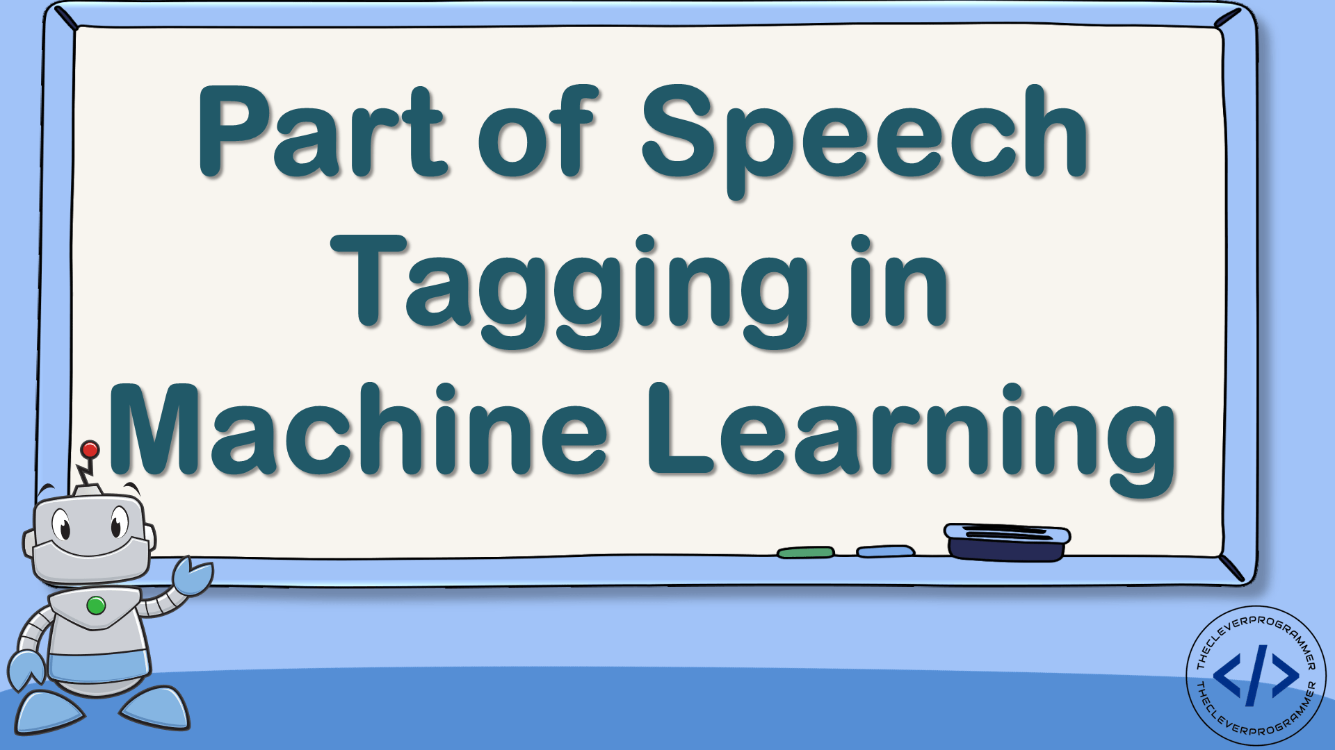 Part of Speech Tagging in Machine Learning
