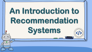 Recommendation Systems in Data Science