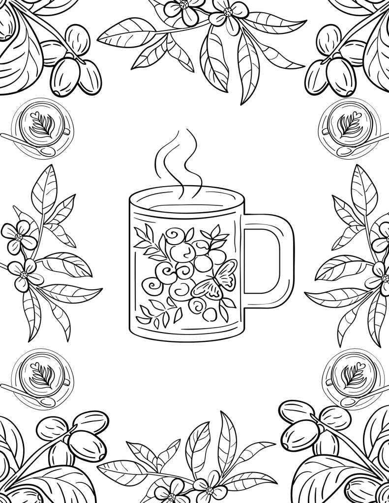 24 Free Printable Coloring Pages You Can Download Right