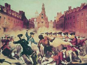 Engraving of The Boston Massacre