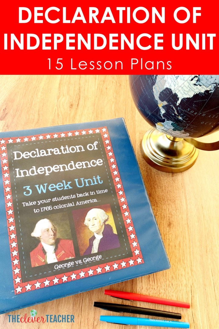 Declaration of Independence Unit