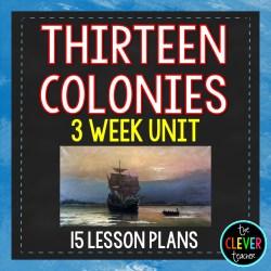 13 Colonies Unit