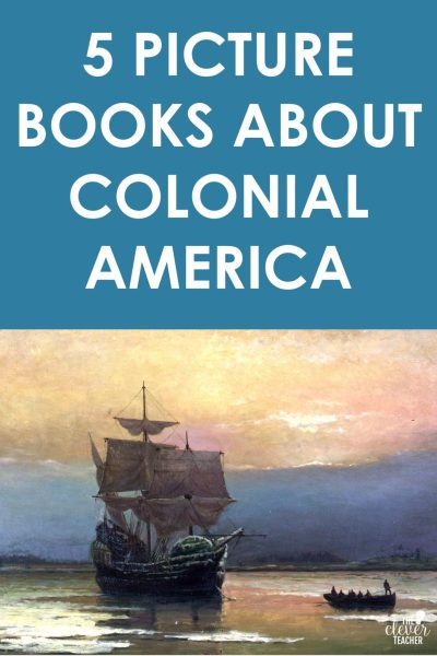 colonial america picture books