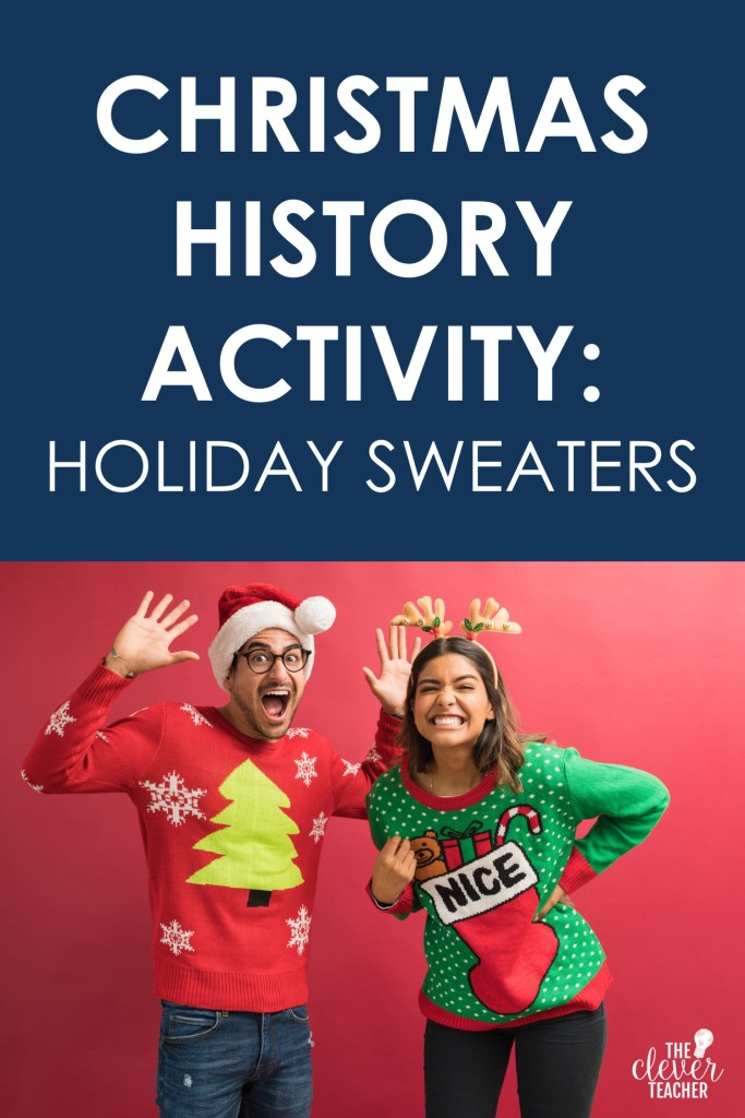 Historical holiday sweaters