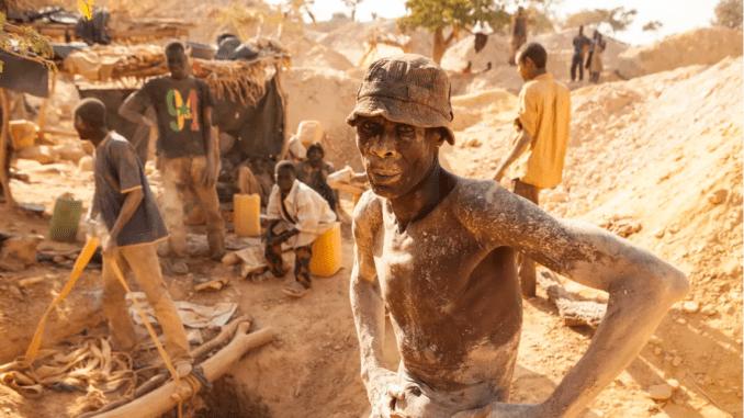 "Photo: African cobalt ""artisanal miner"" for environmental, human impact post"