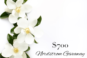 More #NSale Picks & $700 Nordstrom Giveaway