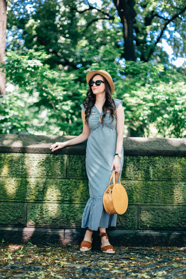 gingham-ruffle-maxi-dress
