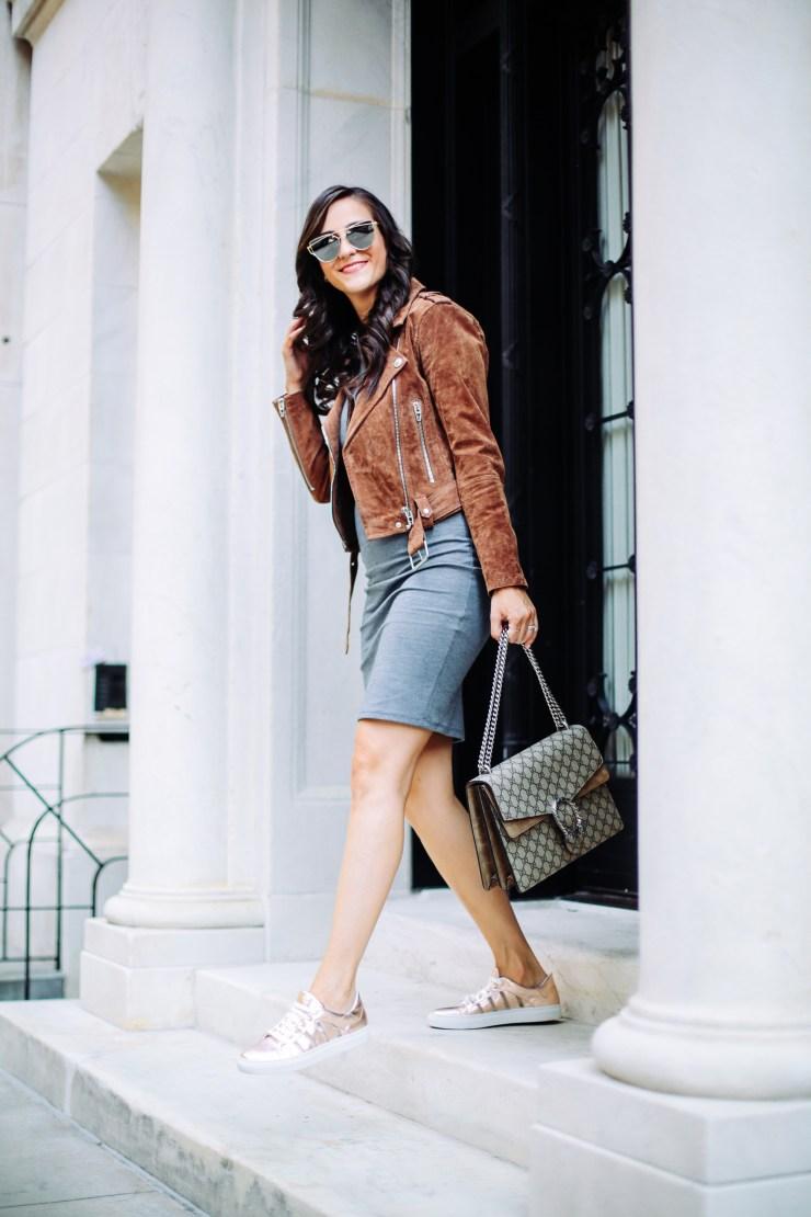 gray-midi-dress