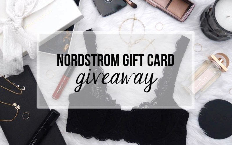 Final Chance to Enter $600 Nordstrom Giveaway