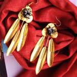 Golden Goddess Statement earrings topjpeg