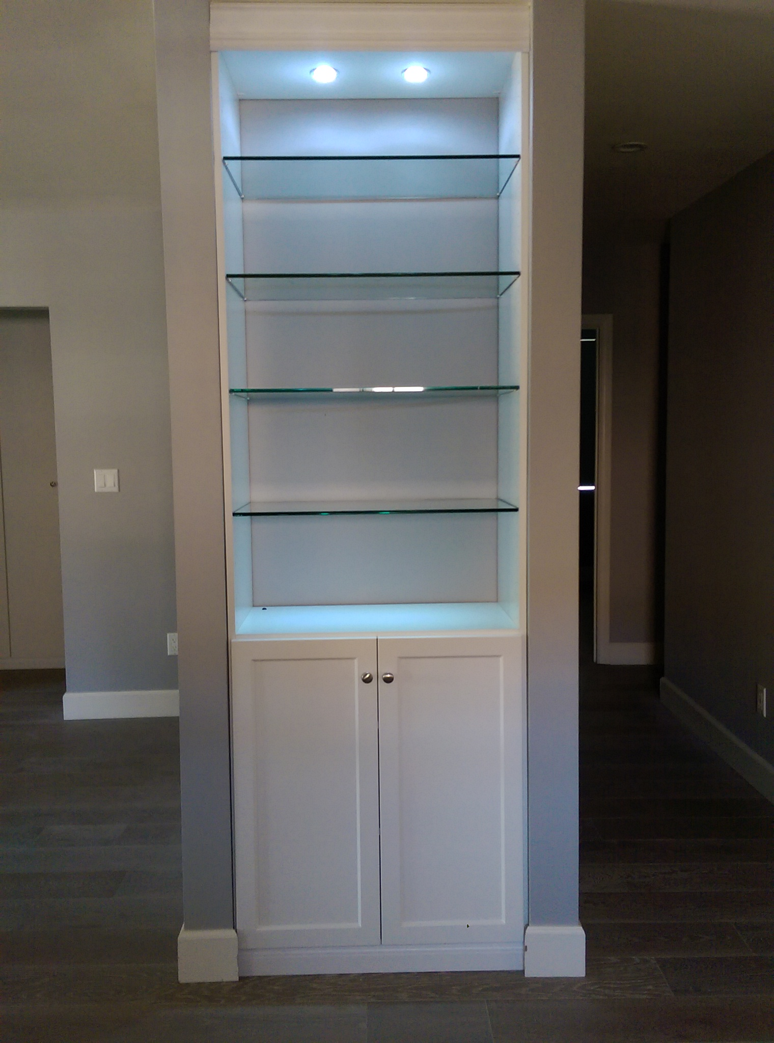 Display Cabinet Glass Shelves North Hollywood Ca Los