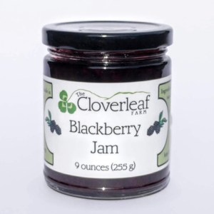 small-batch blackberry jam. 9 oz