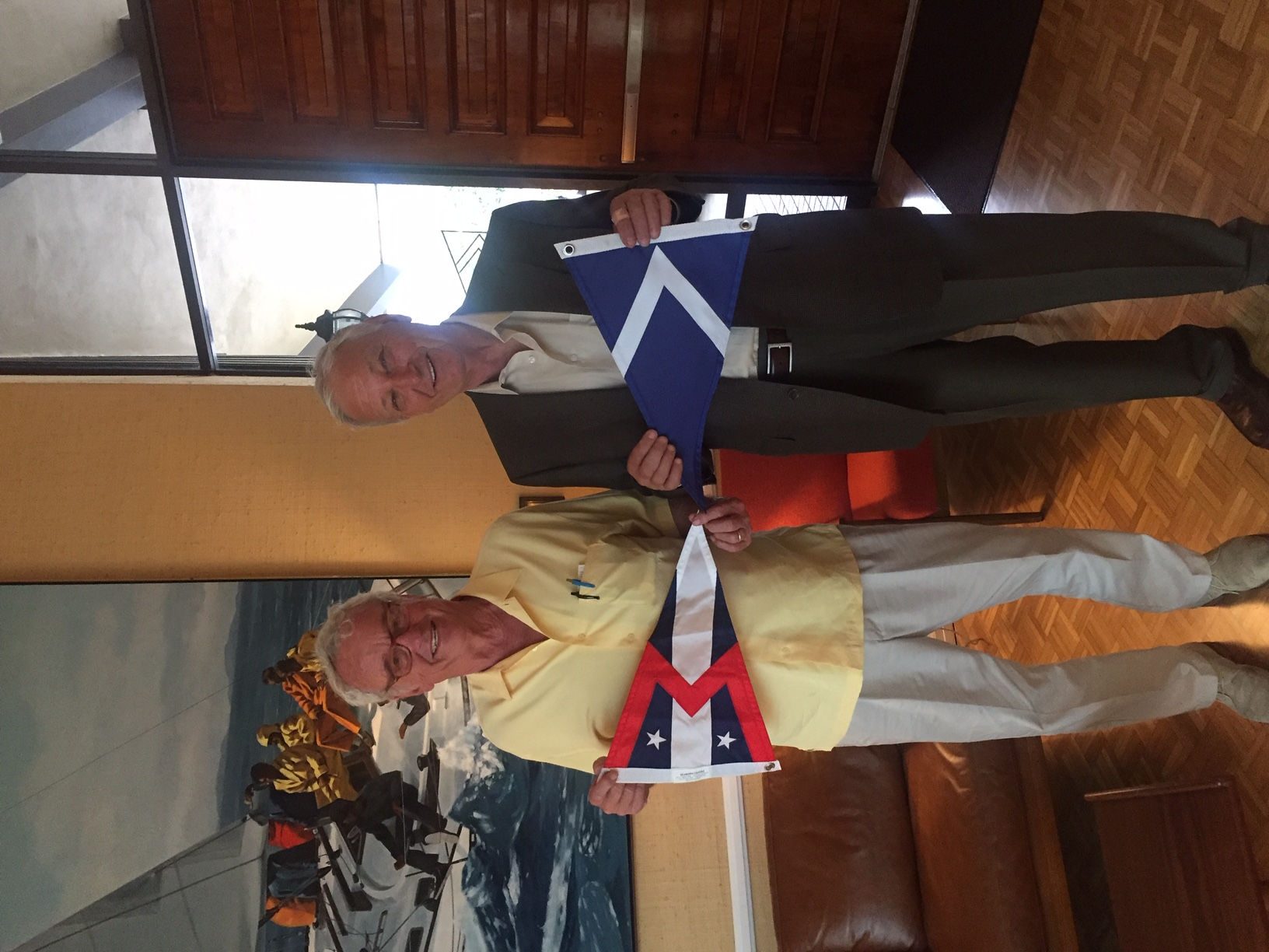 California Yacht Club Burgee Exchange