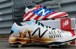 Memorial Day Custom Cleats 6