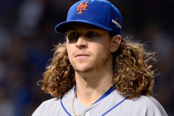 Jacob DeGrom Chopped off hair 1