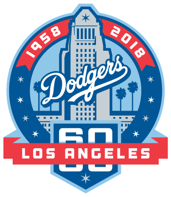 Dodger 60th Patch