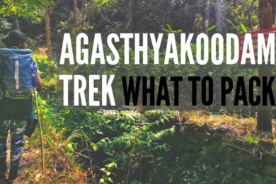 What to Pack for Agasthyakoodam Trek