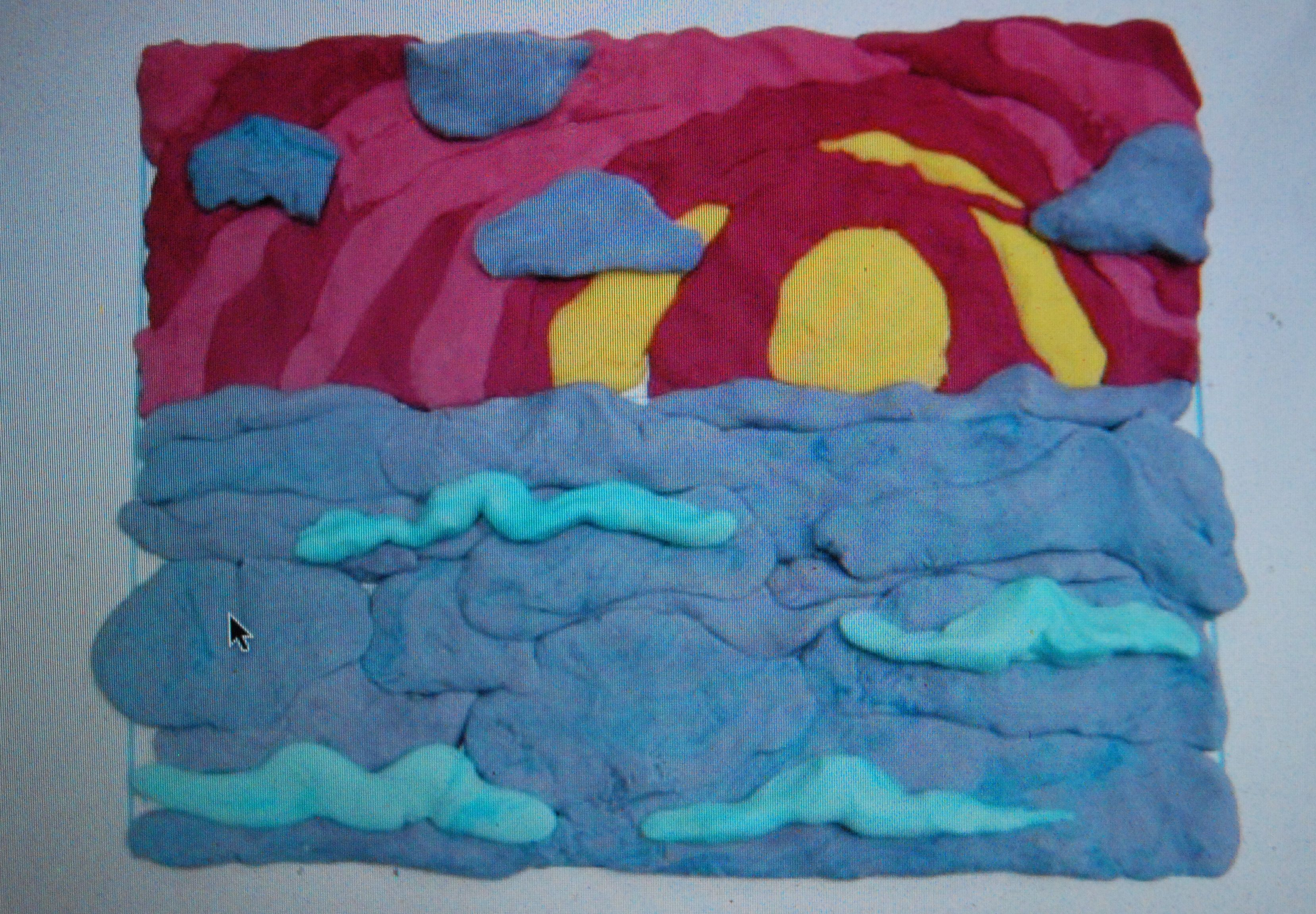 Play Doh Landscape The Cluttered Closet