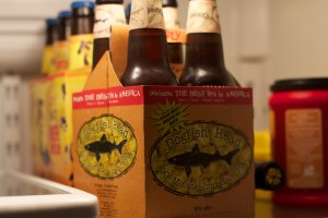 I'm in rapture with Dogfish 90 Minute IPA. It is so potent you only get four in a pack. http://www.dogfish.com/brews-spirits/the-brews/year-round-brews/90-minute-ipa.htm