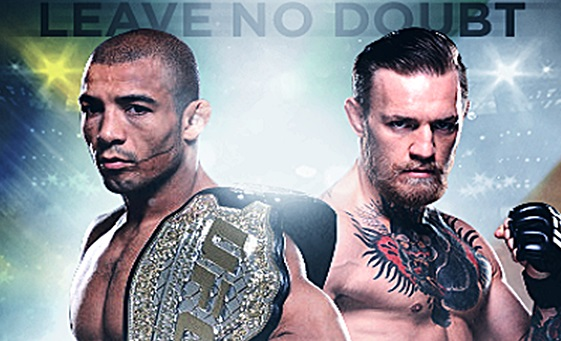 You Can Run, But You Can't Hide… Jose Aldo vs. Conor McGregor- It Is So On.