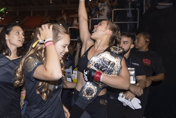 #andSTILL, Rowdy Ronda Rousey Holds the Belt