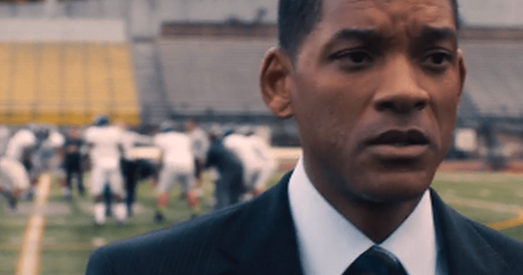 "Will Smith Takes the NFL Head On in New Movie ""Concussion"""