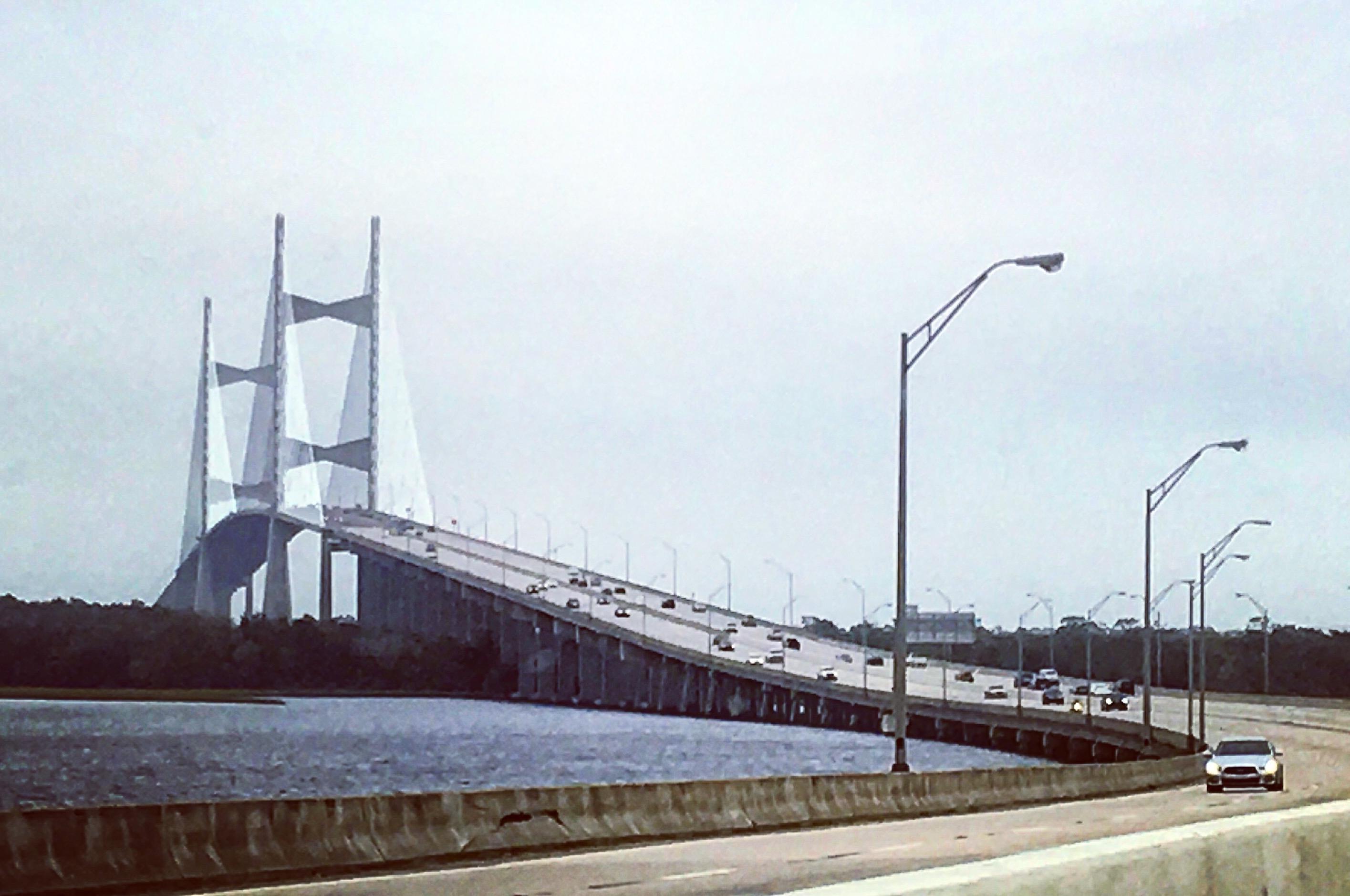 Dames Point Bridge in jacksonville, FL