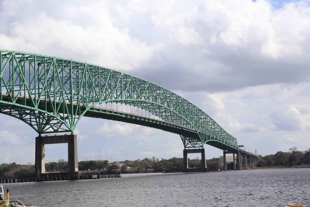 Hart Bridge in Jacksonville, FL
