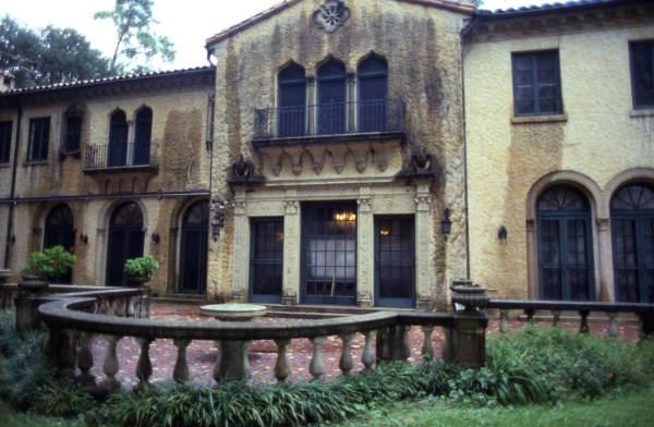 Historic view of Epping Forest mansion / Alfred I. DuPont Estate, San Jose neighborhood of Jacksonville, FL