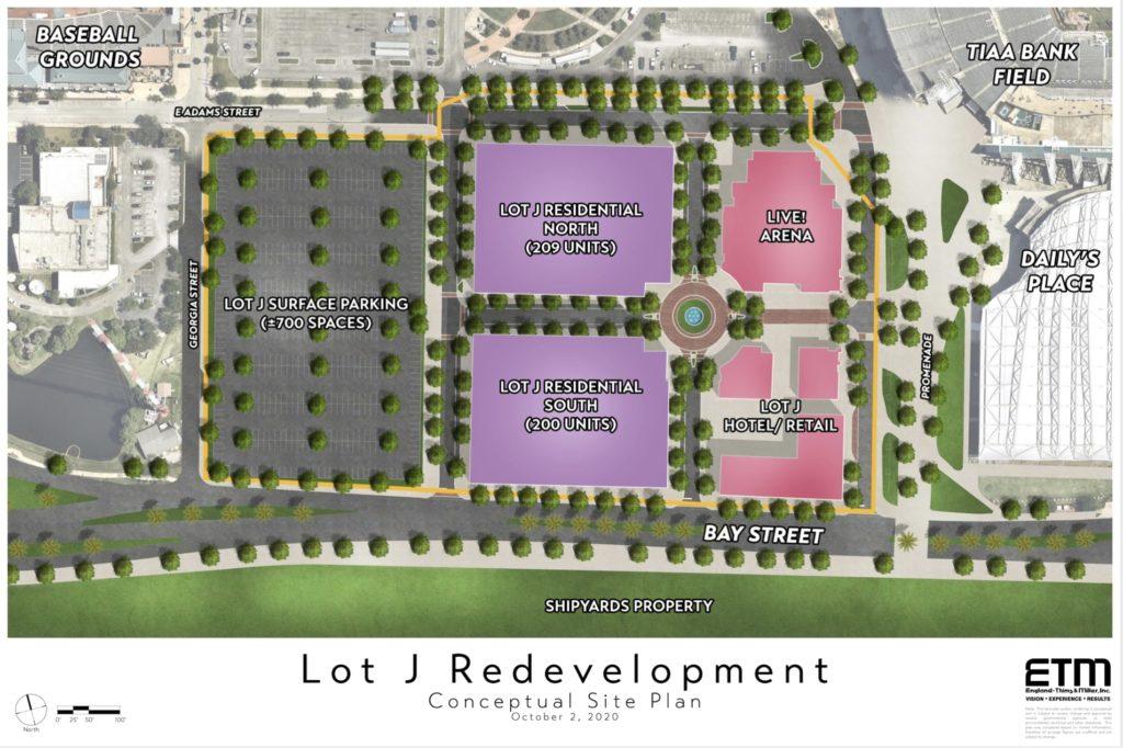 Lot J site plan 2020