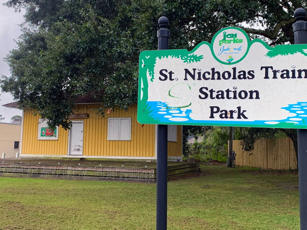 St. Nicholas Train Station, a Rare Reminder of Jax-to-Beaches Railway Line