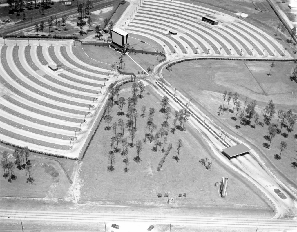 Before Normandy Mall, There Was the Loew's Normandy Drive-In Theatre