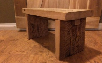 Reclaimed Small Bench 2