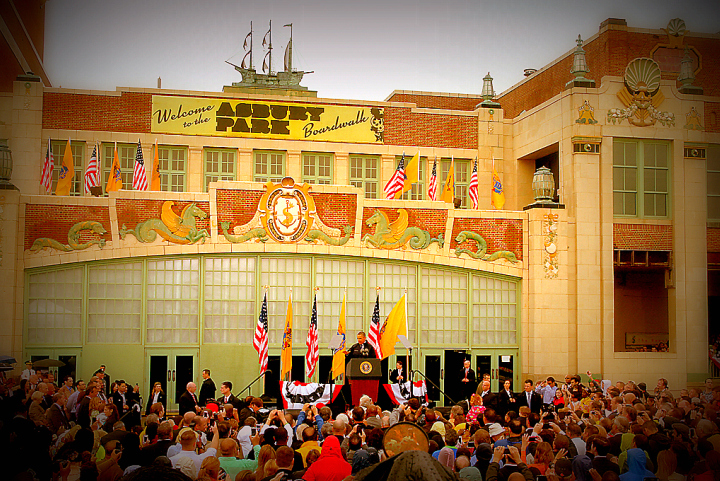 The COASTER photo for the ASBURY PARK historical record. All rights reserved.