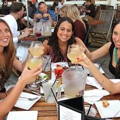 At McLoone's Asbury Grill on the boardwalk in Asbury Park Sat., June 8 were Ariana Elefterakis, Christine Printon, Gabrielle Margiotta, Brianna Alonzo and Lauren Bonaventura, all of Bradley Beach.